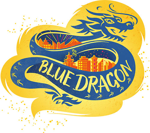 New Blue Dragon Logo