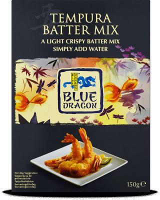 Tempura Batter Mix Products Blue Dragon